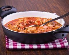 Recette soupe froide de tomate au thon mariné
