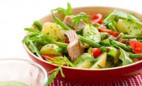 Salade parisienne pour 4 personnes