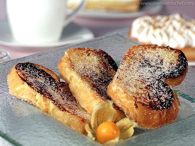 Comment préparer un super pain perdu  meilleurduchef.com