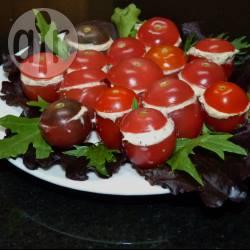 Recette tomates cerises farcies à la crème de saumon – toutes les ...