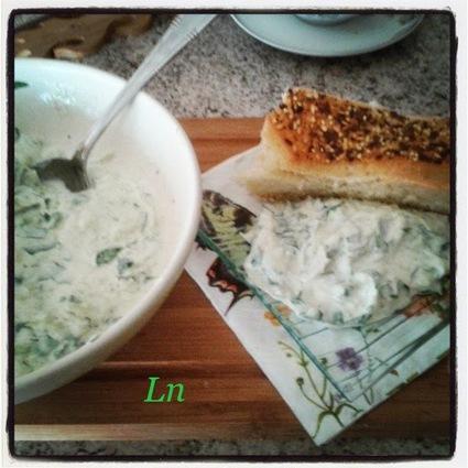 Recette de concombre sauce yaourt à la grecque, cumin et persil ...