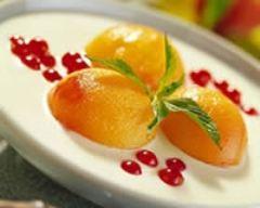 Recette faisselle aux abricots rôtis