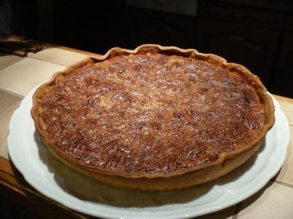Recette de tarte au sirop d'érable et aux noix de pécan