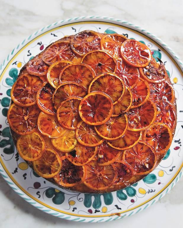 Gâteau de grand-mère aux oranges sanguines pour 4 personnes ...