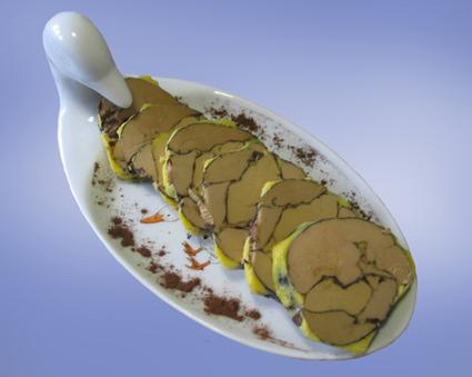 Recette foie gras au chocolat (entrée froide)