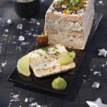 Terrine de saumon sauce verte