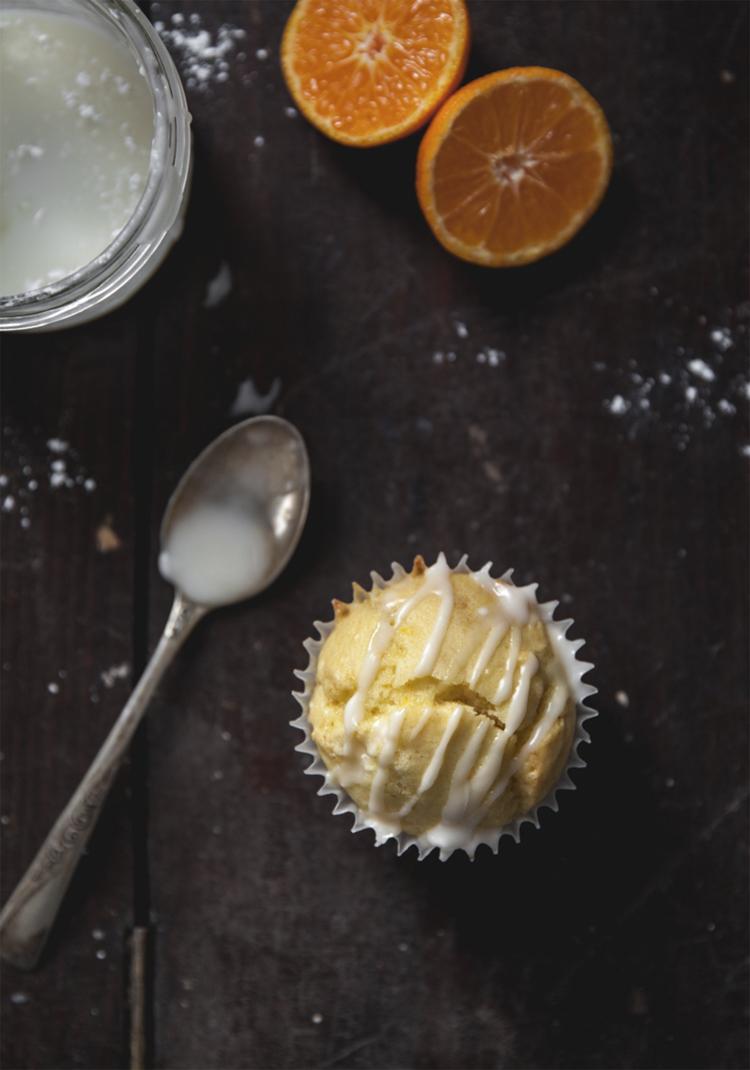 Muffins à la clémentine & chocolat blanc