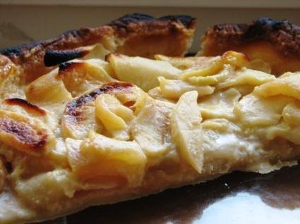 Recette de tarte pommes-amandes