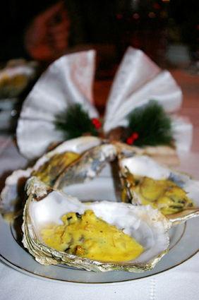 Recette de huîtres chaudes au champagne