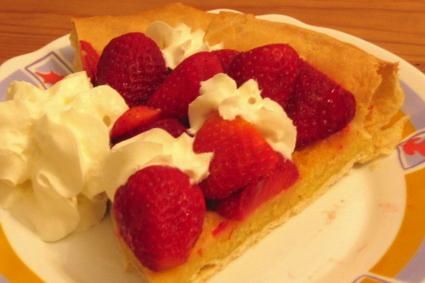 Recette de tarte aux fraises à la frangipane