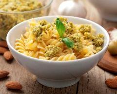 Recette pâtes à la tapenade d'olives vertes
