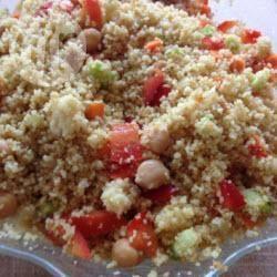 Recette salade de couscous végétarienne – toutes les recettes ...