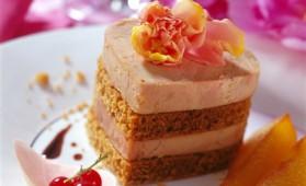 Millefeuilles de foie gras au pain d'épices pour 4 personnes ...