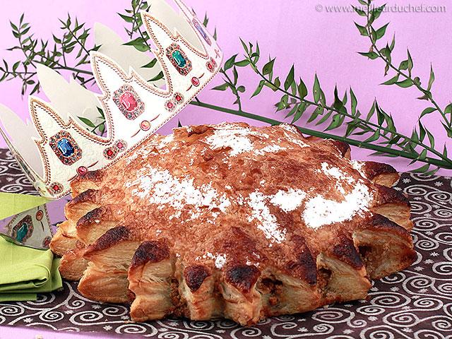 Galette à la crème de noix  recette de cuisine illustrée ...