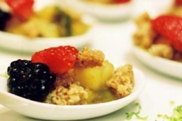 Recette de crumble de fruits d'automne au sirop d'érable facile et ...