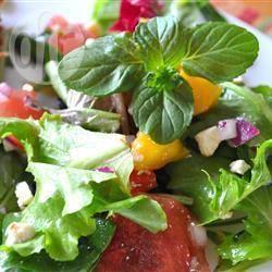 Recette salade à la mangue, menthe et pastèque. – toutes les ...