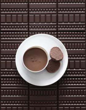 Pots de crème chocolat, sablés diamant pour 5 personnes ...