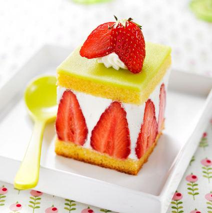 Recette de fraisier de quatre-quarts