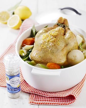 Poule au pot au sel de guérande le guérandais et son bouillon