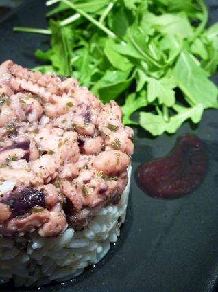 Recette de salade tiède de poulpe