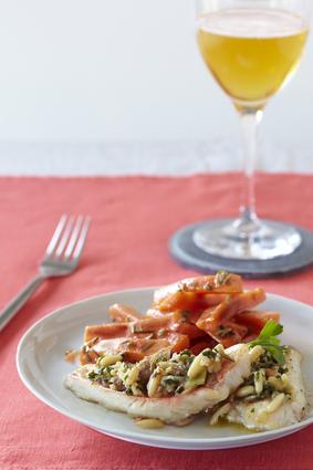 Recette de filets de rouget gratiné au cidre, façon provençale