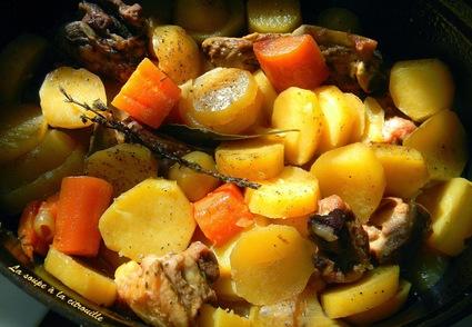 Recette irish stew, mijoté d'agneau aux pommes de terre et carottes ...
