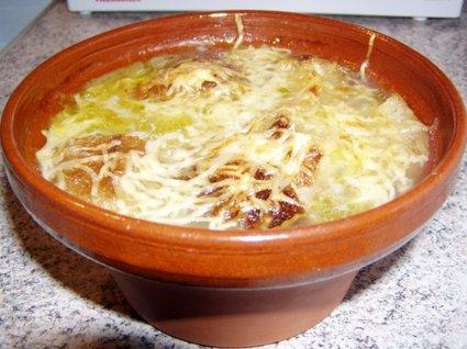 Recette de soupe à l'oignon spécial nouvel an