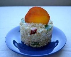 Recette salade de quinoa, feta et nectarine
