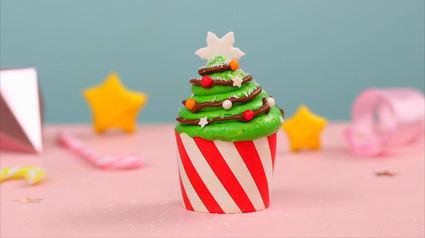 Recette de cupcakes de noël au nutella®