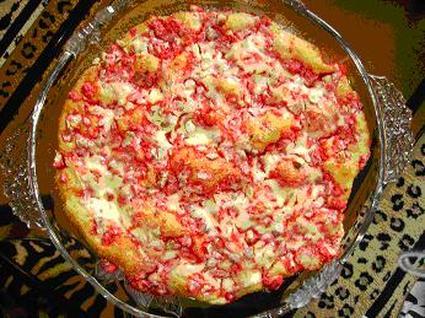 Recette de tarte aux pralines roses