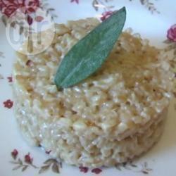 Recette risotto au parmesan et au vin blanc – toutes les recettes ...