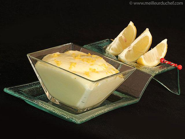 Mousse au citron  fiche recette avec photos  meilleurduchef.com