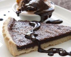Recette tarte au chocolat à la crème fraîche épaisse
