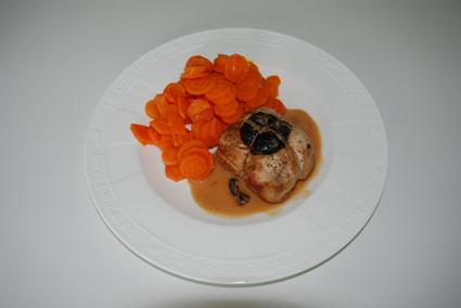 Recette de paupiettes de poulet à la saucisse de morteau