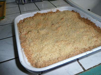 Recette de crumble aux pommes inratable