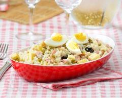 Recette salade de riz aux pommes de terre