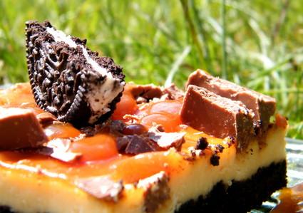 Recette de cheesecake oreos & toblerone