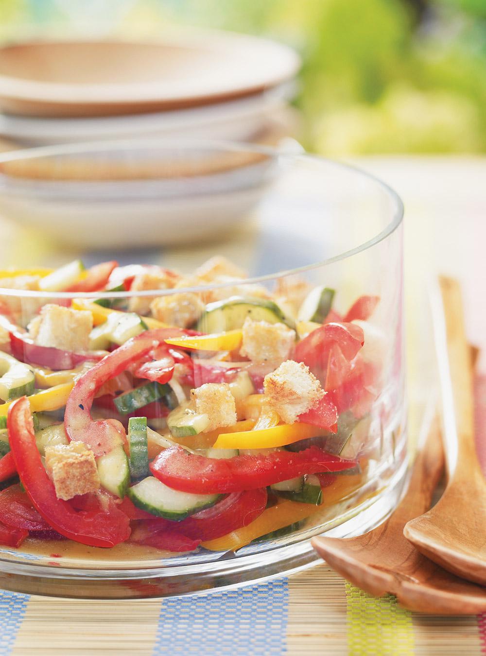 Salade gaspacho | ricardo