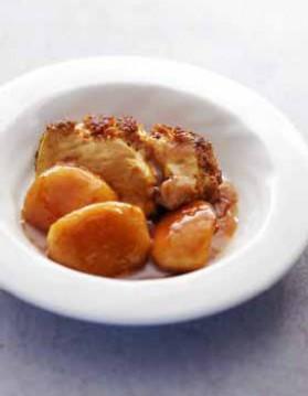 Foie gras de canard au pain d'épices pour 4 personnes