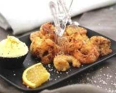 Recette crevettes panées à la noix de coco faciles