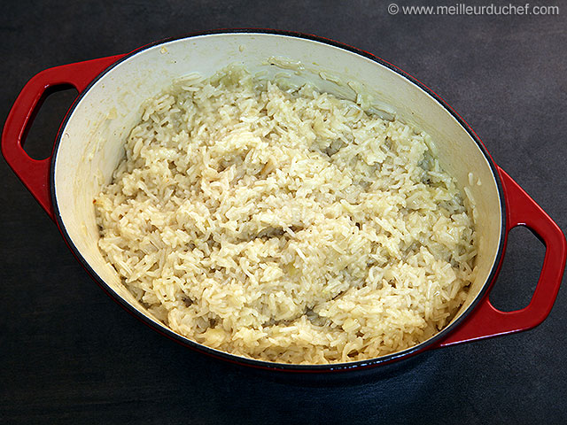 Riz pilaf  recette de cuisine avec photos  meilleurduchef.com