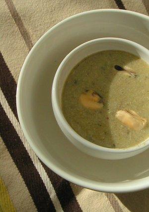Recette de velouté de moules aux légumes