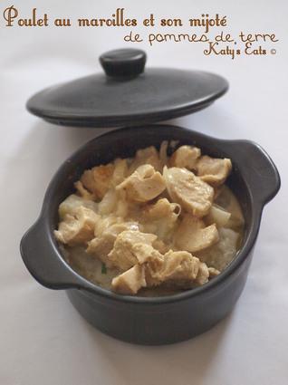 Recette de poulet au maroilles et mijoté de pommes de terre