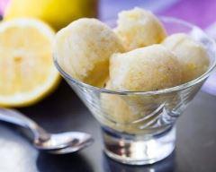 Recette sorbet au citron sans sorbetière