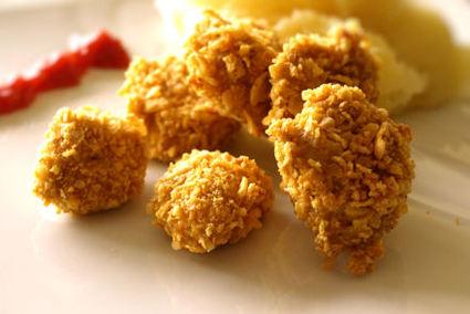 Recette de nuggets croustillants panés aux corn-flakes