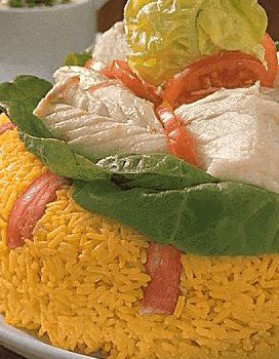 Couronne de poisson recette for Salade pour accompagner poisson