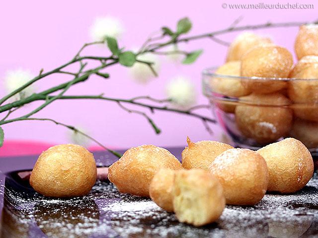 Pets de nonne  recette de cuisine illustrée  meilleurduchef.com