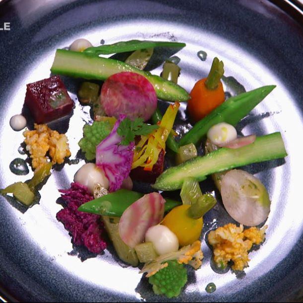 Recette panier de légumes
