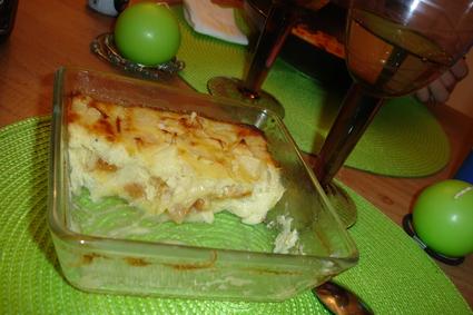 Recette de clafoutis aux abricots secs, pomme et poire