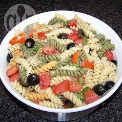 Recette pâtes tomates-basilic